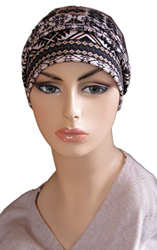 chemo cap silky soft cotton knit scarf hat for