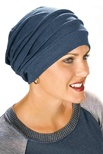 100 cotton slouchy cap covering snood cancer hats