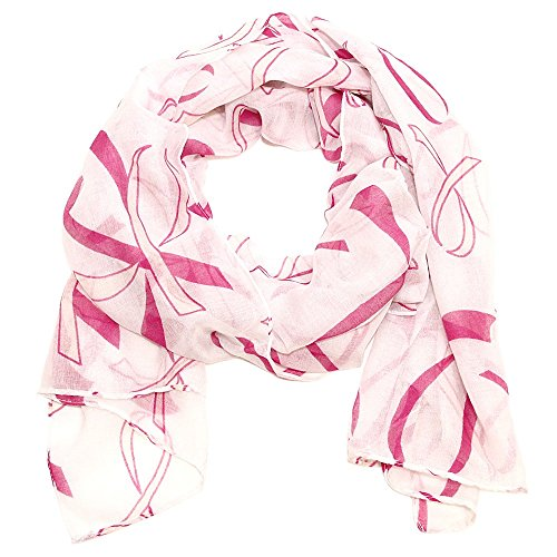 Amazoncom: breast cancer scarf: Clothing, Shoes & Jewelry