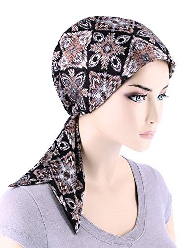 chemo fashion scarf easy tie turban hat headwear for